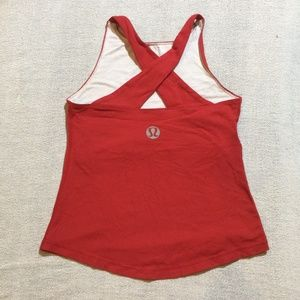 3 for $30 Vintage Lululemon red tank size 4